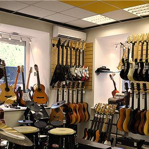 Музыкальные магазины Новопокровки